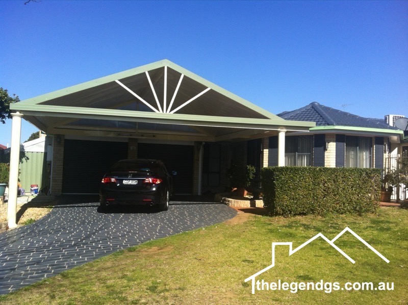 Carport and Pergolas Sydney - The Legend GS