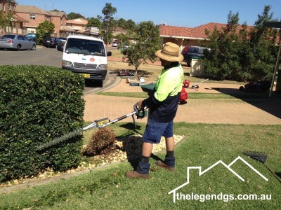 The Legend GS Lawn Mowing Sydney