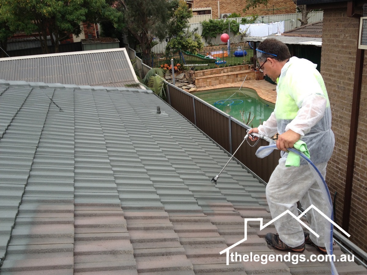 Roof restoration Sydney - The Legend GS