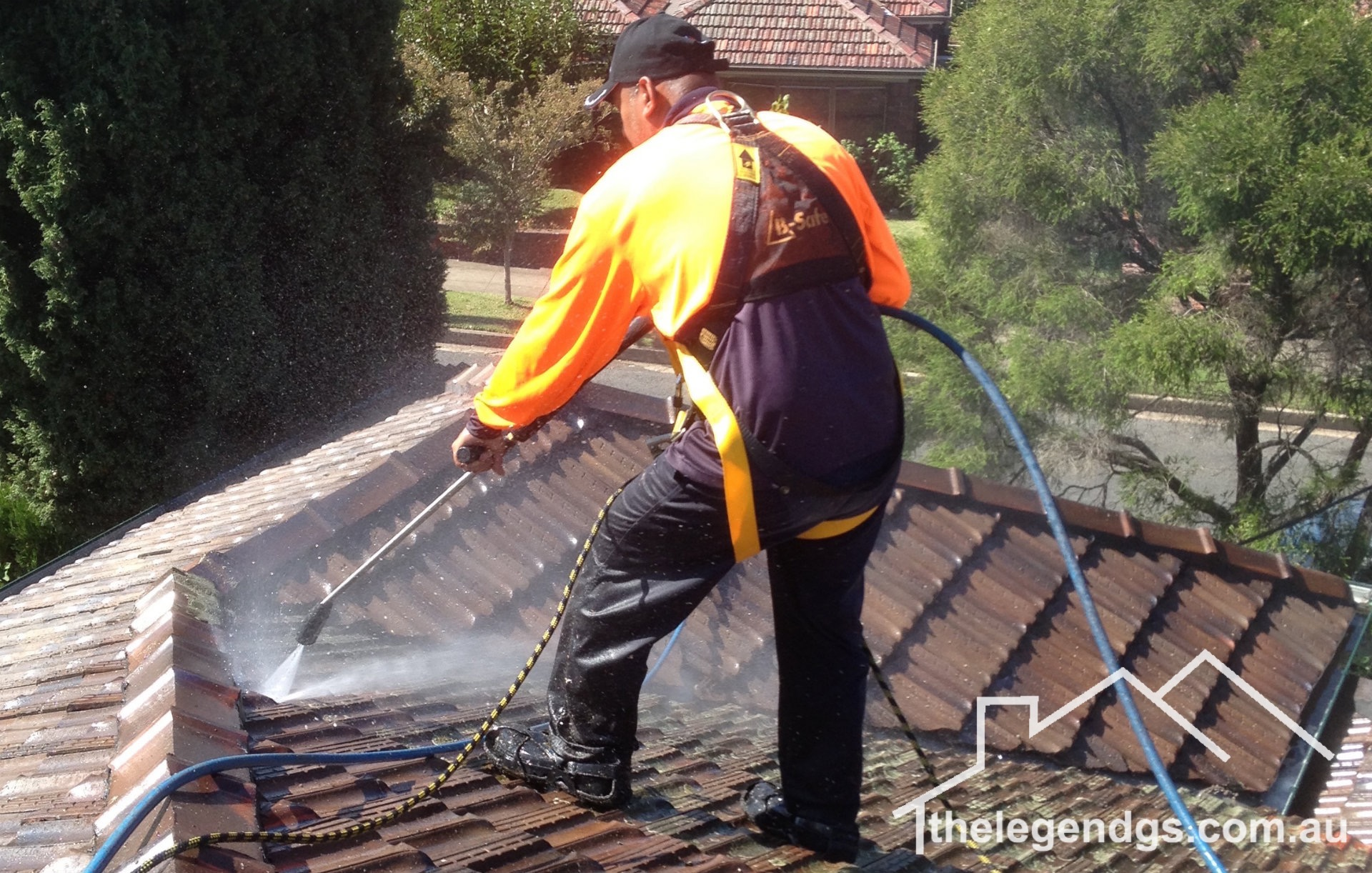 The Legend General Services High Pressure Cleaning, Gutter Replacement, Roof restoration, Carport and Pergolas.