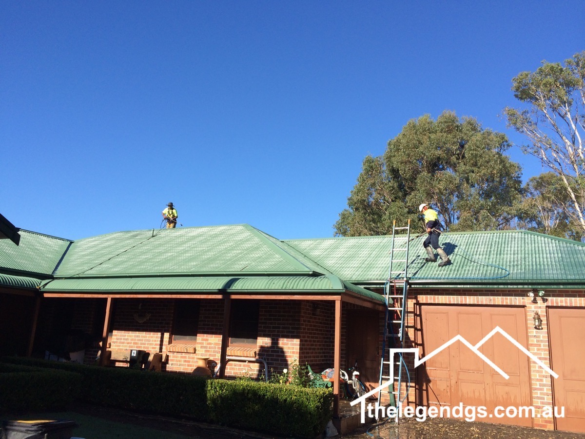 Roof Restroration Sydney - The Legend GS
